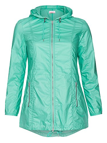 sheego Trend Chaqueta impermeable cortaviento e impermeable tallas grandes Mujer verde menta