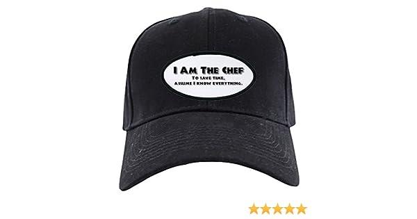 e7559822143 Amazon.com  CafePress - I Am The Chef - Baseball Hat