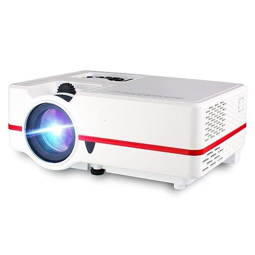 Proyector De Video WiFi 3D Proyector De Cine En Casa LED Proyector ...