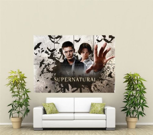 Sam And Dean Supernatural Giant Wall Poster