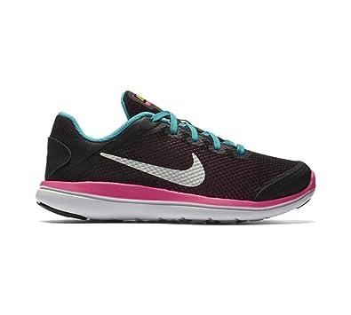 Nike Tanjun Print Girls Running Shoes White aT4868N
