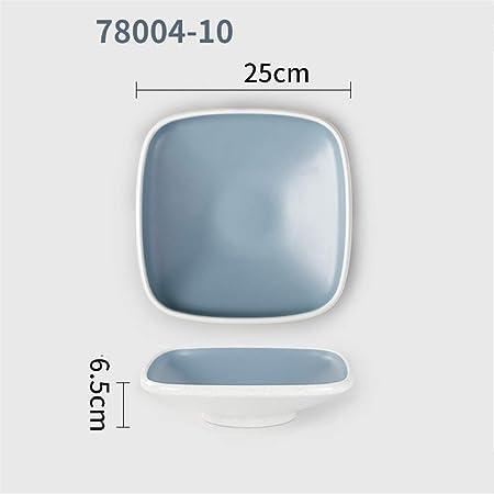 Tazón A5 vajilla de melamina plato plato de plástico tazón ...