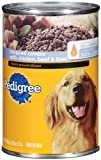 Pedigree Meaty Ground Dinner with Chopped Combo- Chicken,  Beef and Liver, 22-Ounce (Pack of 12), My Pet Supplies
