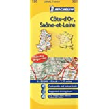 Michelin Map France: Cte-d'Or, Sane-et-Loire 320 (Maps/Local (Michelin)) (English and French Edition)
