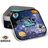 Qurious Space | STEM flash card game | Explore, Match, Quiz & Spin through the universe. Perfect for astronomy fans and future astronauts