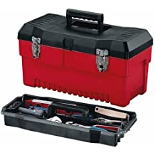 Stack-On PR-19 19-Inch Pro Tool Box, Black/Red