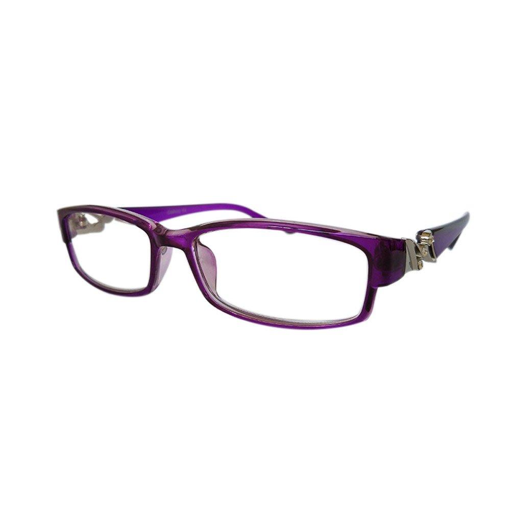 Meijunter Lunettes de lecture haute qualité lumineux cristal Fashion Design Eyewear force 4.5 5.0 5.5 6.0