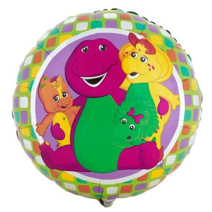 Party Destination - Barney and Friends Foil Balloon