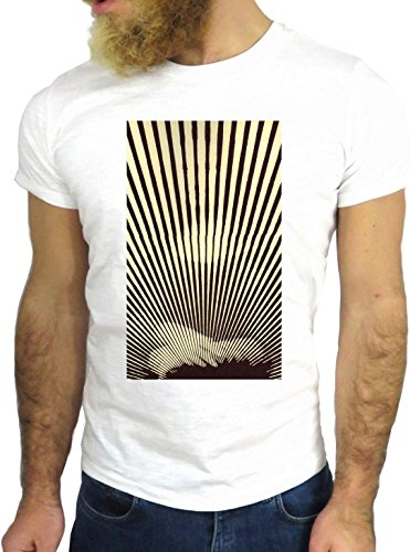 T SHIRT JODE Z1882 WHALE MINIMAL HYPNOTIC STRINGS HIPSTER AMERICA COOL FASHION GGG24 BIANCA - WHITE M
