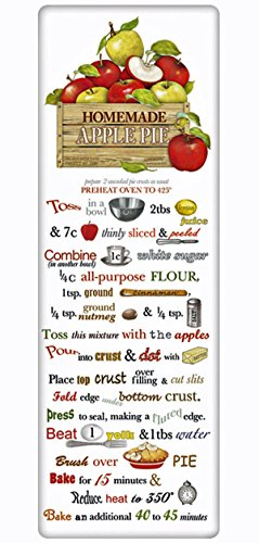 Mary Lake Thompson Flour Sack Recipe Towel - Apple Crate Autumn Apple Pie -