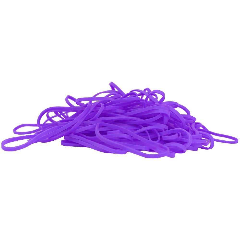 100//Paquet Taille #33 JAM PAPER /Élastiques Color/és Rubans en Caoutchouc Violet