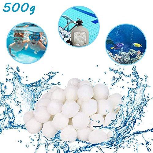 🥇 HUOHUOHUO – Bolas de filtro para piscina