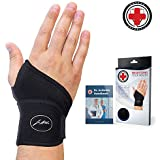 Doctor Developed Premium Copper Lined Wrist Support/...