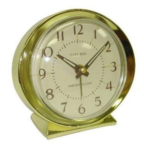 NYL HOLDINGS LLC/WESTCLOX 11605A Gold Baby Ben Key wound Alarm
