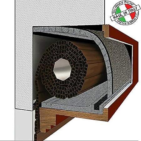 Stop a las corrientes de aire - KIT de1metro de aislamiento térmico acústico - Para cajón de persiana enrollable
