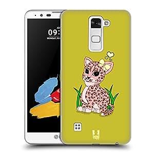 Head Case Designs Adorable poco salvaje funda–carcasa de rígida para LG Teléfono 2