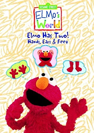 Amazon Com Elmo S World Elmo Has Two Hands Ears Feet