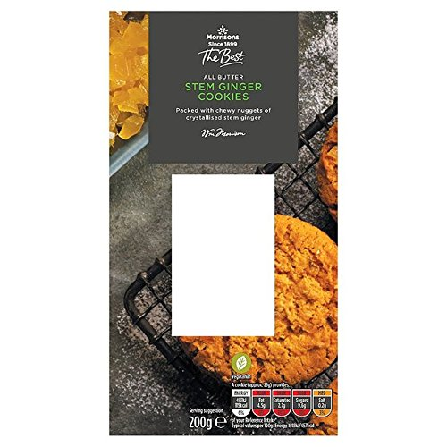 Morrisons The Best Stem Ginger Cookies (Best Ginger Snaps)