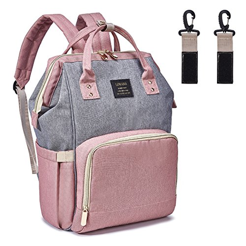 Baby Diaper Bag Backpack Mommy Nappy Bags Multi-functional Waterproof Large Capacity Travel Bag with Insulated Pockets & Stroller Straps, Fashion, Durable and Stylish