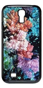 Coral HD image case for Samsung Galaxy S4 I9500 black + Card Sticker
