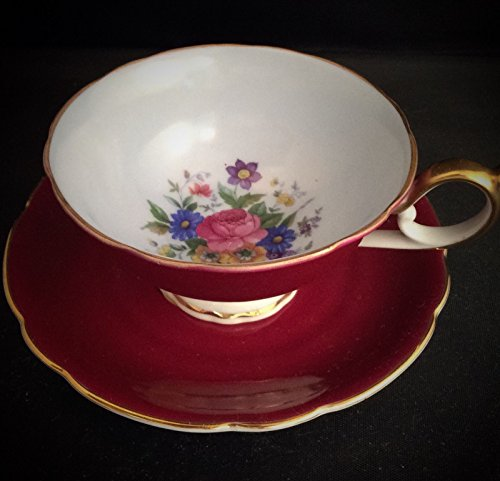 Demitasse Germany (US Zone Germany Royal Bayreuth Demitasse Cup and Saucer)