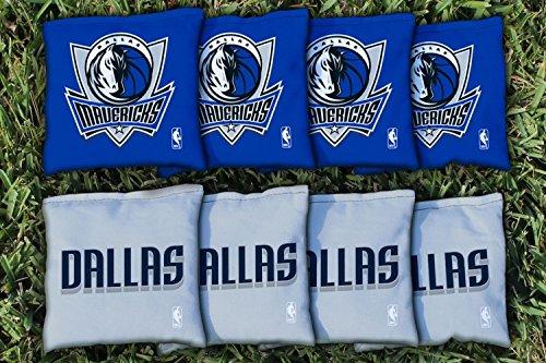 NBA Replacement All Weather Cornhole Bag Set NBA Team: Dallas Mavs Mavericks by Victory Tailgate