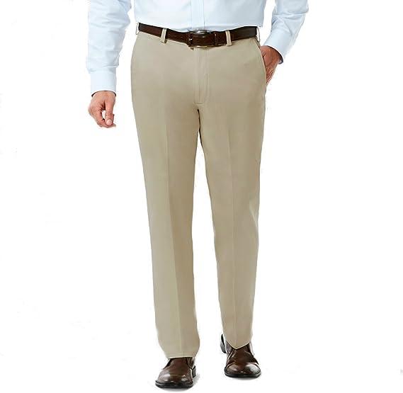Haggar H26 Pantalones De Hombre 38 X 30 Cm Color Caqui Amazon Com Mx Ropa Zapatos Y Accesorios