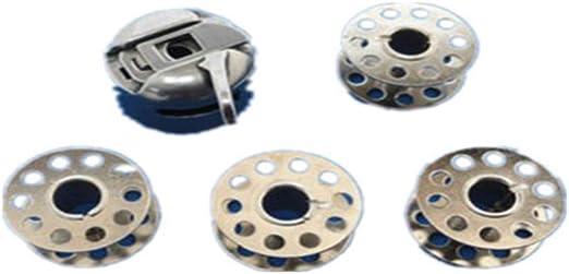 SUPVOX 1 juego de bobinas y estuches 4 bobinas de hilo de coser 1 estuche de la bobina de la máquina de coser para sastres uso en el hogar para principiantes: Amazon.es: Hogar