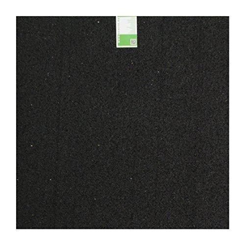 Caucho granulado Estera de la lavadora 60x60x2cm acerto 31698 Alfombra antivibraciones