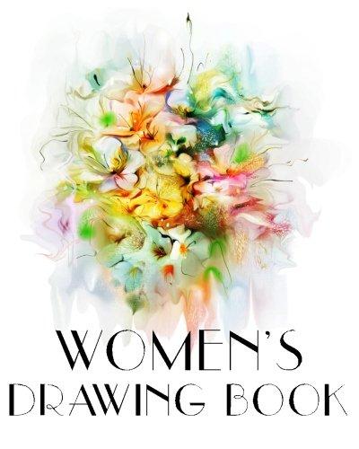 Women's Drawing Book: Bullet Grid Journal, 8 X 10, 150 Dot Grid Pages (sketchbook, Journal, Doodle)