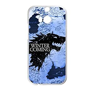 Winter coming map Cell Phone Case for HTC One M8