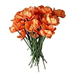 12-Stems-Artificial-Poppies-Real-Touch-PU-Fake-Latex-Flowers-for-Wedding-Holiday-Bridal-Bouquet-Home-Party-Decor-Orange