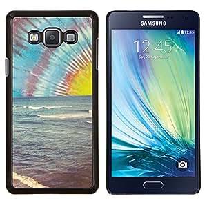 LECELL--Funda protectora / Cubierta / Piel For Samsung Galaxy A7 A7000 -- Lsd Hippie Drogas Shrooms Beach --