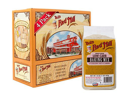 Bob's Red Mill Low-Carb Baking Mix, 16 Ounce (Pack of 4)