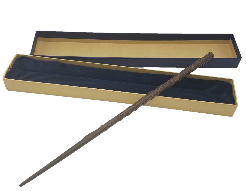Wizard Wand for Costumes Cosplay Accessory with Collector's Sorceress Magic Staff Box