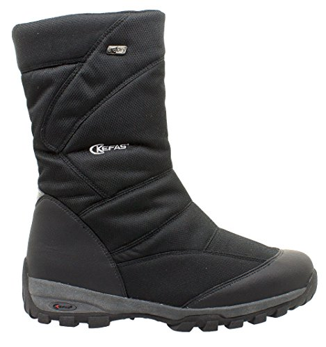 KEFAS Man Winter Snow Boot 2920 SKELETON Black