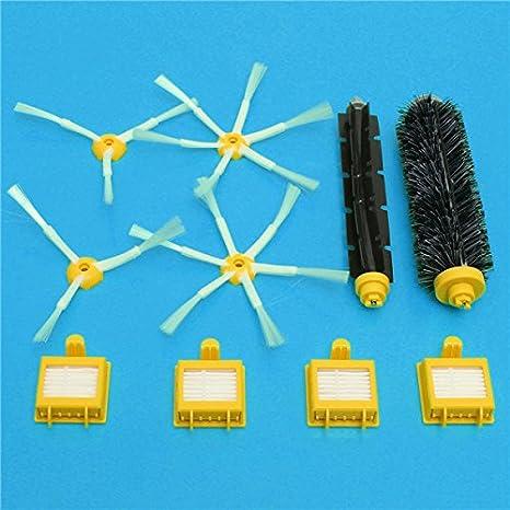 ILS - Cepillos y filtro vacío piezas para la serie iRobot Roomba 700 - Accesorios para aspiradoras: Amazon.es: Electrónica