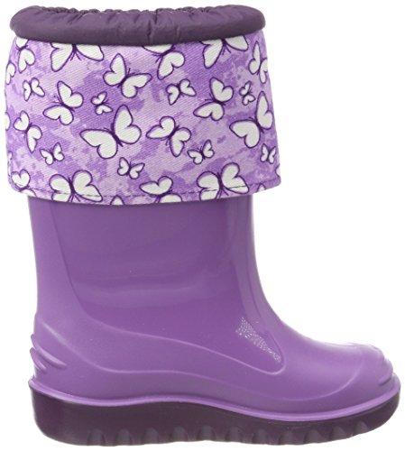 Romika butty, Botas de Agua Unisex Niños Violett (Lila-Kombi)