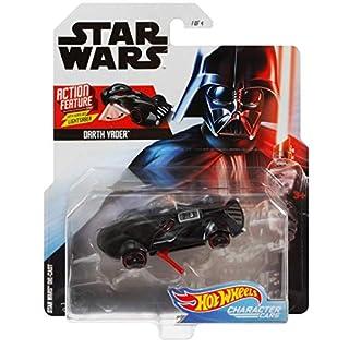 Hot Wheels Star Wars Darth Vader Action Feature Character Car Action Feature Series Character Cars
