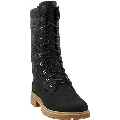 ef7258a9bb0 Timberland Women s Jayne Warm Gaiter Boot Black Nubuck 5.5 ...