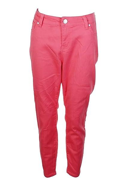 735802d776db4 Celebrity Pink Womens Plus Jayden Petite Ankle Skinny Jeans Pink 14WP