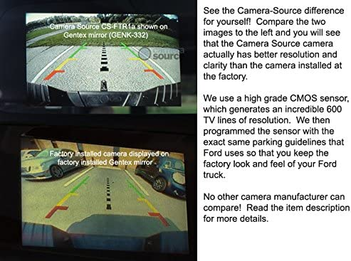 2008-2010 F150 Flex Plug /& Play Replacement Camera Module Camera only - housing not Included
