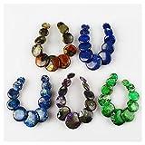 E1854 Multi-Color Gemstone Jasper Eleven Beads Set,DIY Accessory for Necklace Beads set:Mix wholesale 5 sets (Picture 1) Sets:1 lots