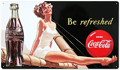Drink Coca Cola Refreshed Beauty