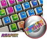 REAPER KEYBOARD STICKER FOR DESKTOP, LAPTOP AND NOTEBOOK