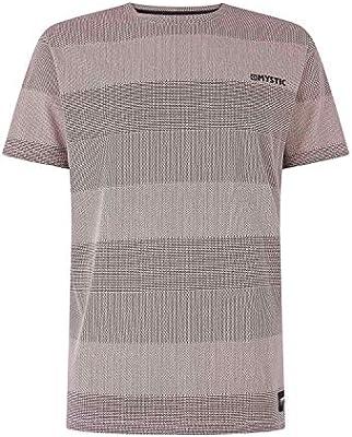 Mystic Watersports - Surf Kitesurf y Windsurf Hombres Chad tee Camiseta Top Dawn Pink - Maillot Individual, 160 g/m². Ajuste Regular: Amazon.es: Deportes y aire libre