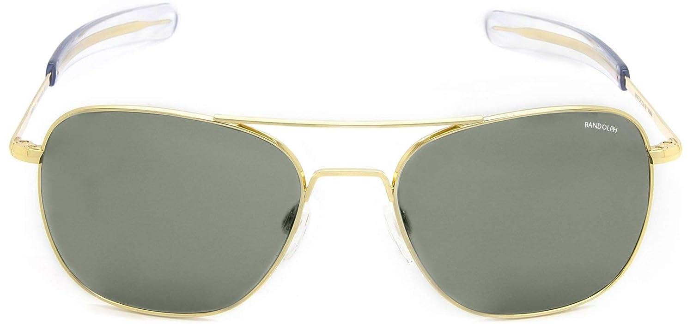 Randolph Aviator Spectrum Sunglasses /& Carekit Designer Sunglasses Bundle