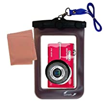 Lightweight Underwater Camera Bag for the Olympus FE-370 – Waterproof Protection for Up to 20 feet