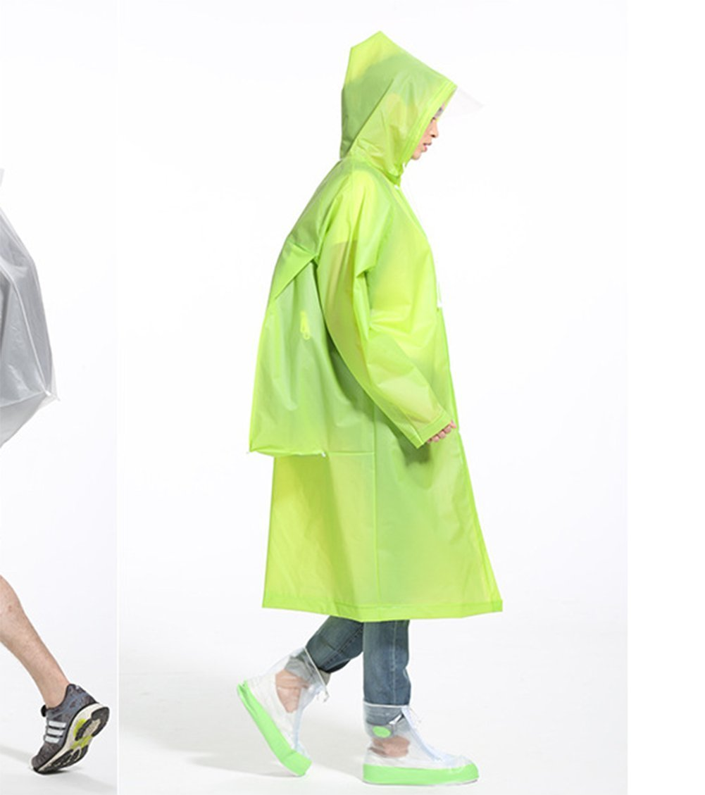 Raincoats For Men And Women Raincoats Hiking Outdoor Raincoats Outdoor Travel Raincoats,Green