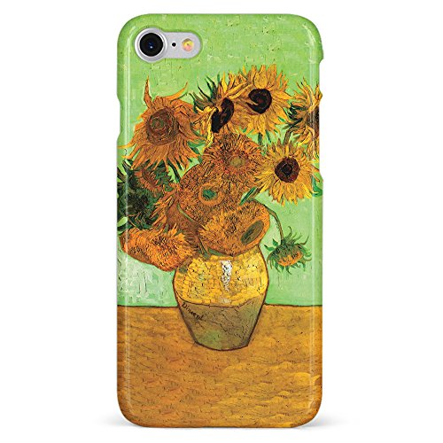 - Monarque iPhone Case with Smooth Premium Durable Scratch-Resistant TPU Material with Sunflowers Design Fit For iPhone 6 iPhone 7 iPhone 8